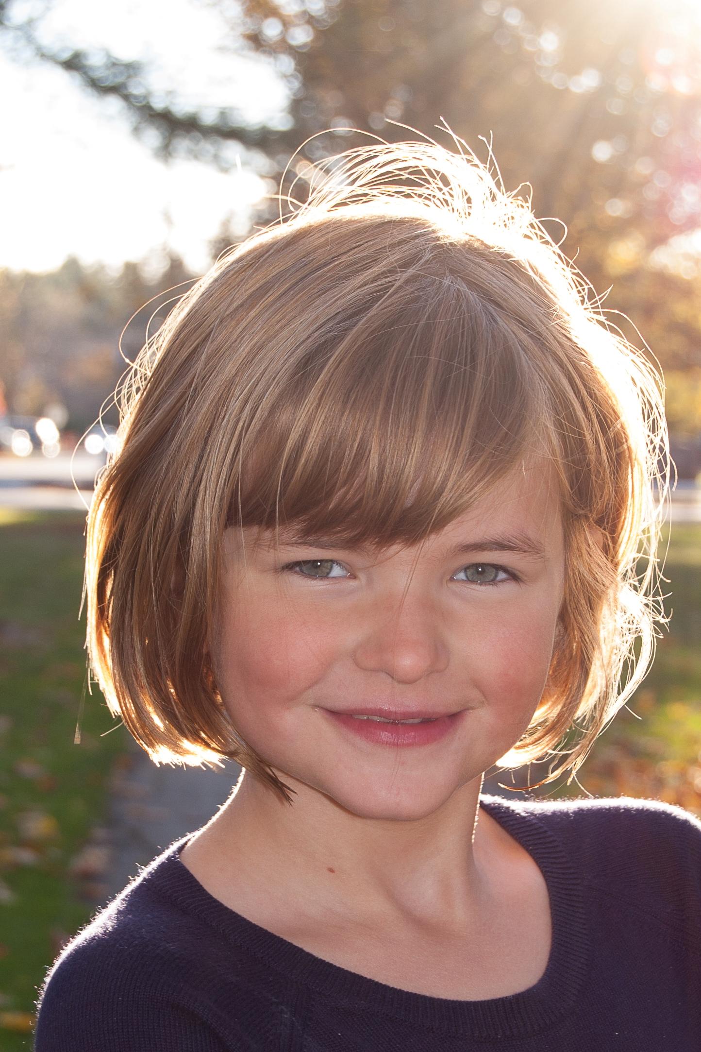 My daughter, Rose.